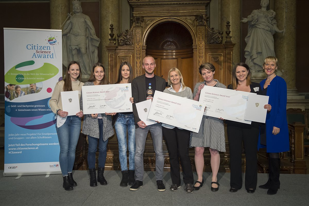 Verleihung der Citizen Science-Awards