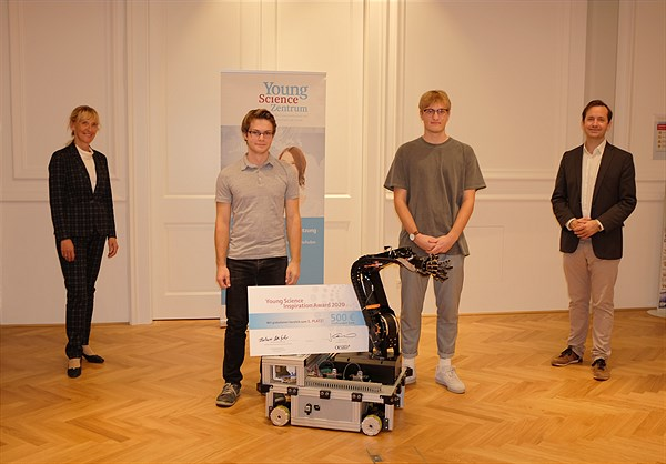Verleihung der Young-Science-Inspiration-Awards 2020
